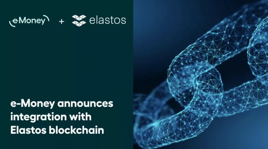 稳定币项目 e-Money 将在 Elastos 上推出其欧元稳定币
